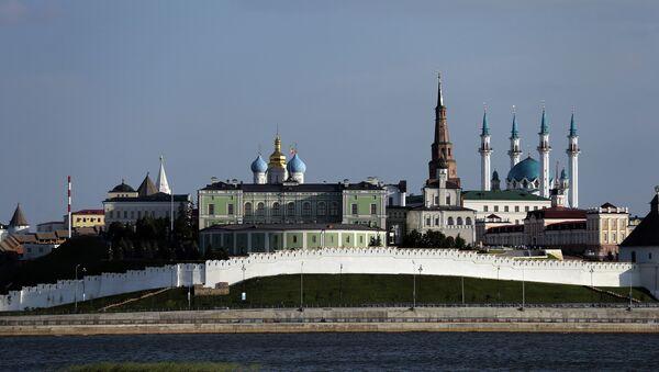 Kazan manzarası. Kazan kremlin - Sputnik Türkiye