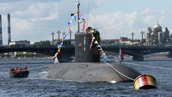 Rusya Donanması. denizaltı - Sputnik Türkiye