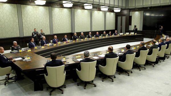 Milli Güvenlik Kurulu Toplantısı - Sputnik Türkiye