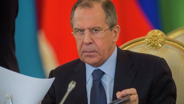 Rusya Dışişleri Bakanı Segey Lavrov - Sputnik Türkiye