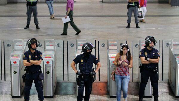 İspanya - Madrid'de terör alarmı - Sputnik Türkiye