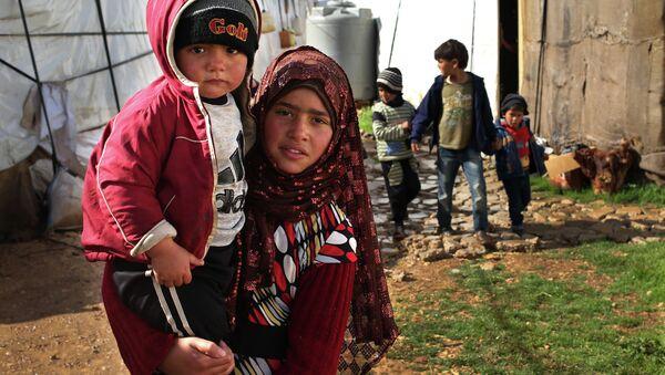 Suriyeli sığınmacılar-Lübnan - Sputnik Türkiye