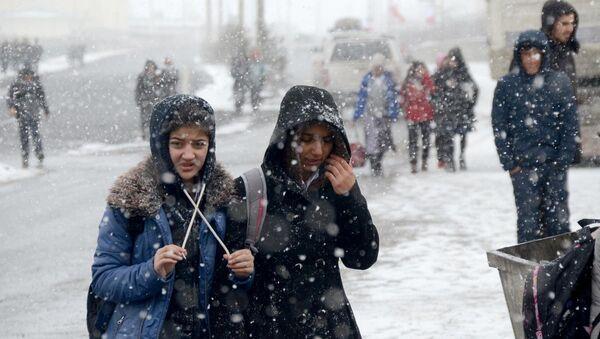 Okullara kar tatili - Sputnik Türkiye
