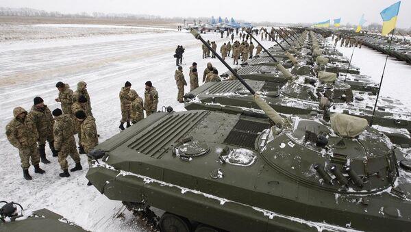 Ukrayna ordusuna yeni askeri araçlar - Sputnik Türkiye