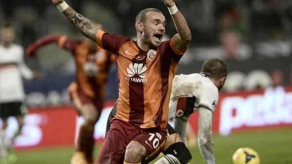 Wesley Sneijder - Sputnik Türkiye