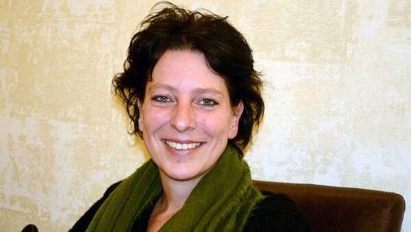 Hollandalı gazeteci Frederike Geerdink - Sputnik Türkiye