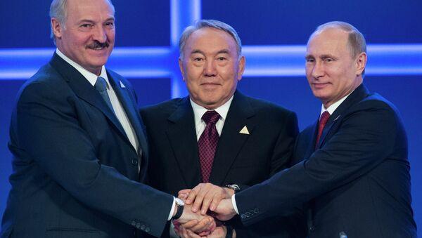 Avrasya Ekonomik Birliği liderleri - Sputnik Türkiye