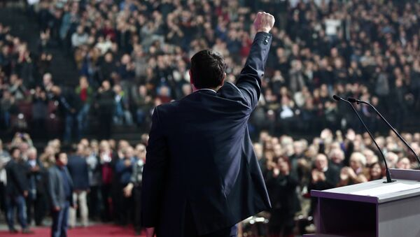 Syriza Partisi lideri  Alexis Tsipras - Sputnik Türkiye
