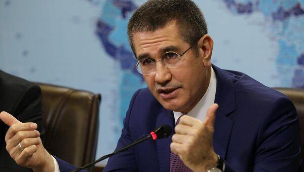 Gümrük ve Ticaret Bakanı Nurettin Canikli - Sputnik Türkiye