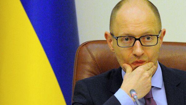 Ukrayna Başbakanı Arseniy Yatsenyuk - Sputnik Türkiye