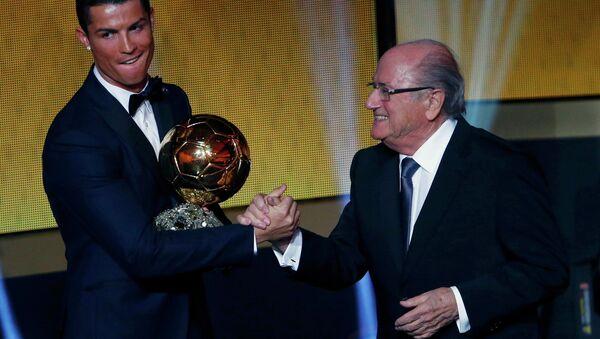 Ronaldo ikinci kez Altın top ödülünü kazandı - Sputnik Türkiye