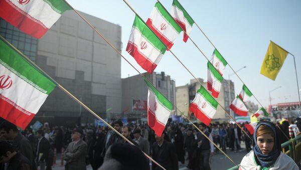 İran'da İslam devrimi yıldönümü kutlamaları - Sputnik Türkiye