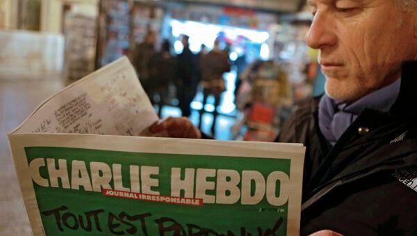 Charlie Hebdo'nun yeni sayısı - Sputnik Türkiye