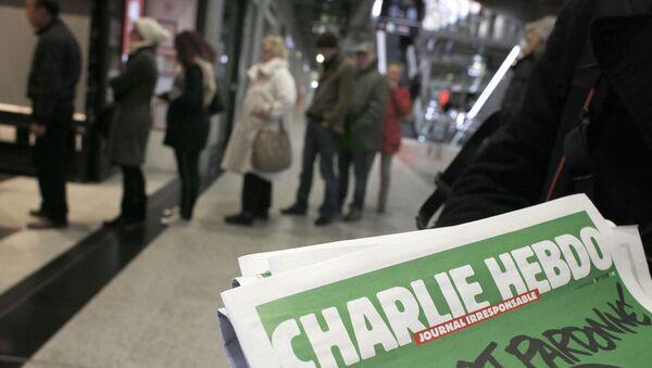 Charlie Hebdo'nun kapağı - Sputnik Türkiye