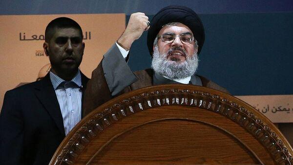 Hizbullah lideri Şeyh Hasan Nasrallah - Sputnik Türkiye