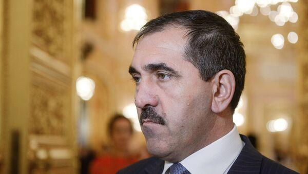 Rusya Federasyonu cumhuriyetlerinden İnguşetya'nın Başkanı Yunus Bek Yevkurov - Sputnik Türkiye