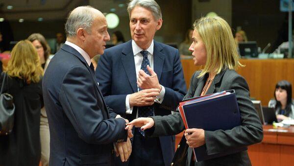 Avrupa Birliği Dışişleri Bakanları toplantısı - Sputnik Türkiye