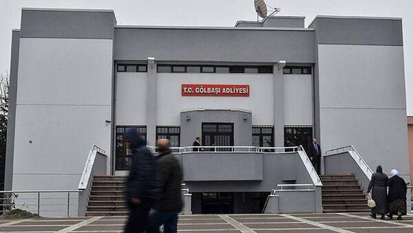 Gölbaşı Adliyesi - Sputnik Türkiye
