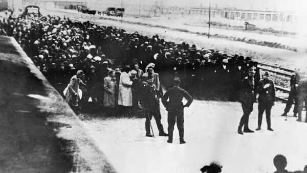 Nazi toplama kampı Auschwitz - Sputnik Türkiye