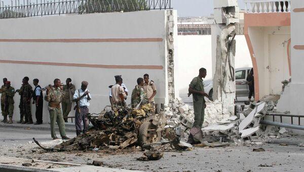 Somali'de El Şebab saldırısı - Sputnik Türkiye
