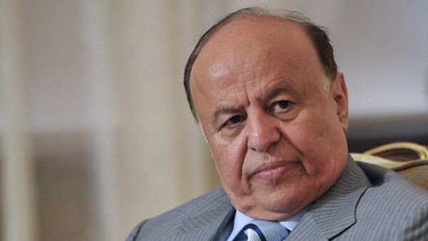Yemen Cumhurbaşkanı Mansur Hadi - Sputnik Türkiye