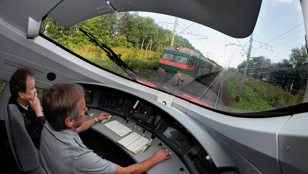 Moskova hızlı tren hattı - Sputnik Türkiye