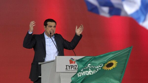 SYRIZA lideri Aleksis Çipras - Sputnik Türkiye