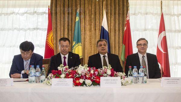 Avrasya Ekonomik İşbirliği toplantısı - Sputnik Türkiye