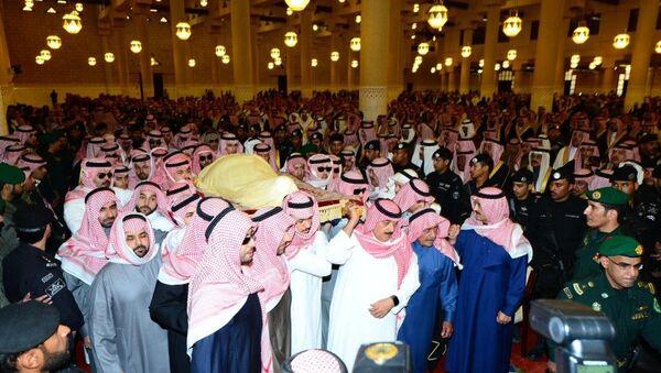 Suudi Arabistan Kralı Abdullah bin Abdulaziz'in cenazesi - Sputnik Türkiye