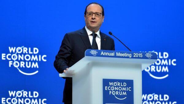 Fransa Cumhurbaşkanı Francois Hollande - Sputnik Türkiye