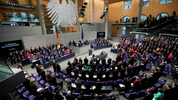 Almanya Federal Meclis - Sputnik Türkiye