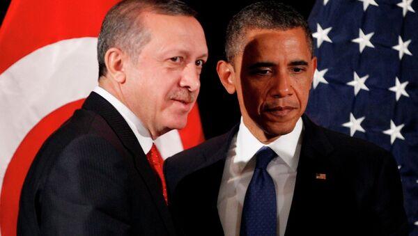 Recep Tayyip Erdoğan-Barack Obama - Sputnik Türkiye