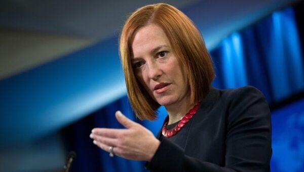 ABD Dışişleri Bakanlığı Sözcüsü Jen Psaki - Sputnik Türkiye