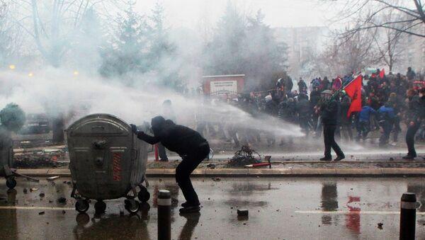 Kosova protesto gösterileri - Sputnik Türkiye
