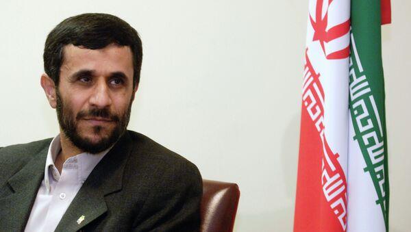 İran İslam Cumhuriyeti'nin altıncı cumhurbaşkanı Mahmud Ahmedinejad - Sputnik Türkiye