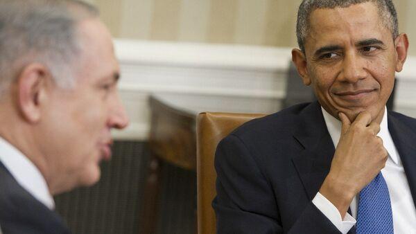 ABD Başkanı Obama- İsrail Başbakanı Netanyahu - Sputnik Türkiye