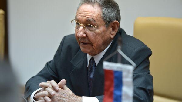 Küba Devlet Başkanı Raul Castro, - Sputnik Türkiye