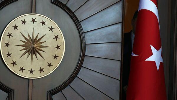 Çankaya Köşkü'ndeki Cumhurbaşkanlığı Forsu - Sputnik Türkiye
