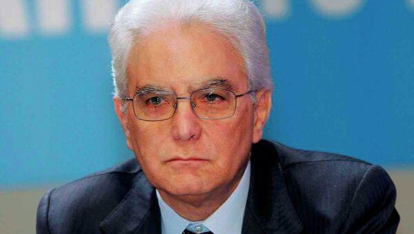 İtalya'nın yeni cumhurbaşkanı Sergio Mattarella - Sputnik Türkiye