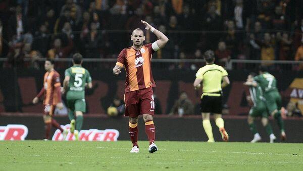 Galatasaraylı oyuncu Wesley Sneijder - Sputnik Türkiye