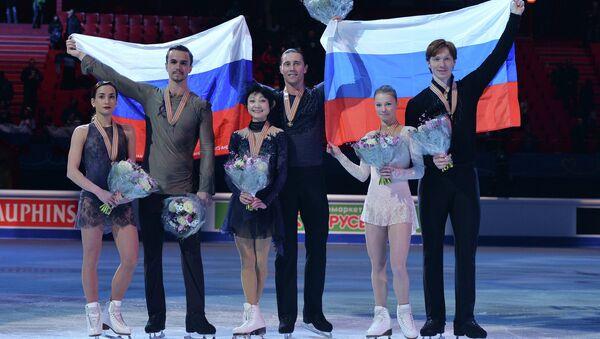 2015 Avrupa Artistik Buz Pateni Şampiyonası - Sputnik Türkiye