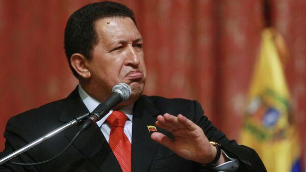 Venezüella eski Devlet Başkanı Hugo Chavez - Sputnik Türkiye