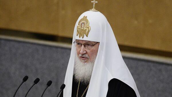 Rus Ortodoks Kilisesi lideri Patrik Kirill - Sputnik Türkiye
