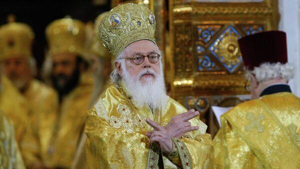 Arnavutluk Başpiskoposu Anastosios - Sputnik Türkiye