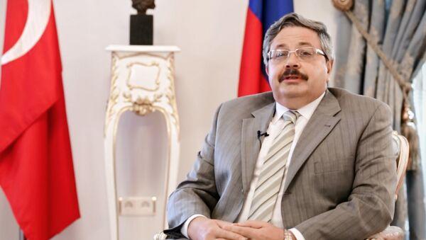 İstanbul Başkonsolosu Aleksey Yerhov - Sputnik Türkiye