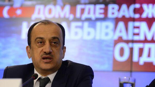 Türkiye'nin Moskova Büyükelçisi Ümit Yardım - Sputnik Türkiye