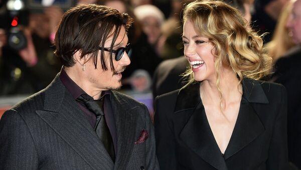 Johnny Depp ve Amber Heard - Sputnik Türkiye
