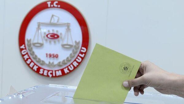 Yüksek Seçim Kurulu - Sputnik Türkiye