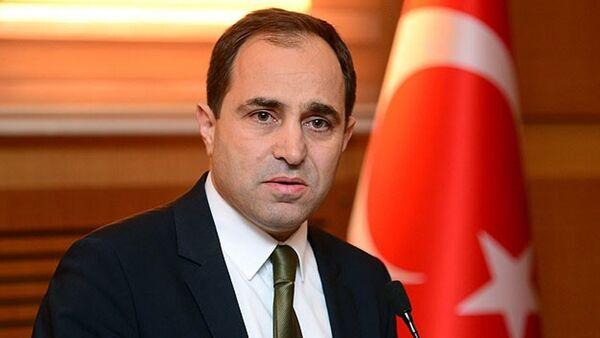 Türkiye Dışişleri Bakanlığı Sözcüsü Tanju Bilgiç - Sputnik Türkiye