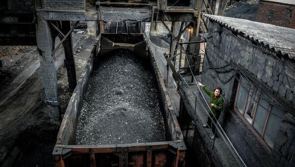 Donbass'ta kömür madeni - Sputnik Türkiye